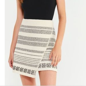 UO Elsa Sweater Wrap Skirt